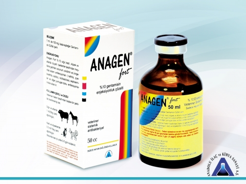 Anagen%10 Inj. Solution 50 mL