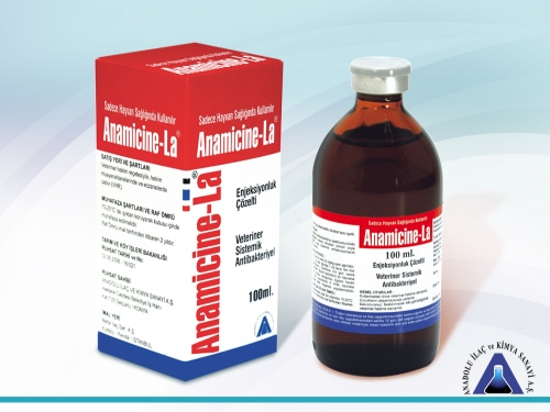 Anamicine-La Inj. Solution 100 mL