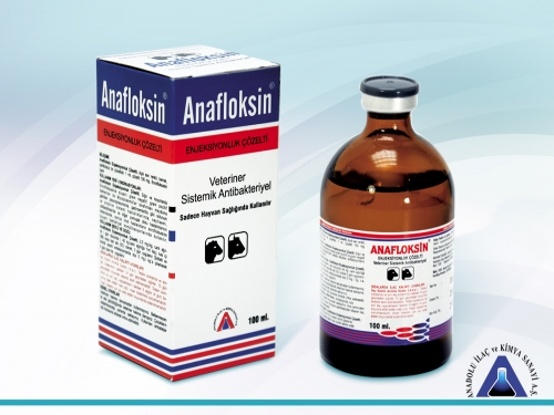 Anafloksin Inj. Solution 100 mL