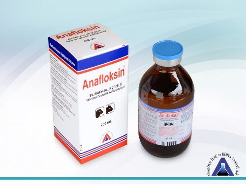 Anafloksin Inj. Solution 250 mL